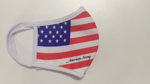 Khẩu Trang Cờ Mỹ America Strong - Khẩu Trang Vải In Hình Cờ Mỹ Được Đặt Hàng Số Lượng Lớn. 3