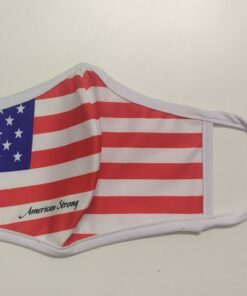 Khẩu Trang Cờ Mỹ America Strong - Khẩu Trang Vải In Hình Cờ Mỹ Được Đặt Hàng Số Lượng Lớn. 8