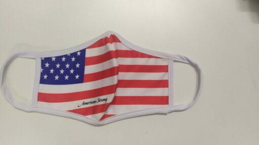 Khẩu Trang Cờ Mỹ America Strong - Khẩu Trang Vải In Hình Cờ Mỹ Được Đặt Hàng Số Lượng Lớn. 4