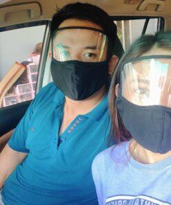 Khẩu Trang Vải Kết Hợp Face Shield Làm Theo Mẫu Của Đơn Đặt Hàng Tại Thị Trường MỸ - EU! 16