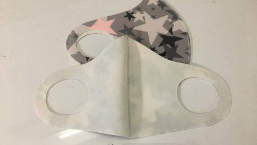 Khẩu Trang Vải Poly 3D Size Lớn Dành Cho Phương Tây, Có Hoa Văn Đẹp! 4