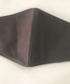 Khẩu Trang Vải 3 Lớp Màu Xám Có Quai Đeo Bằng Thun May Theo Đơn Đặt Hàng Xuất Khẩu. 6