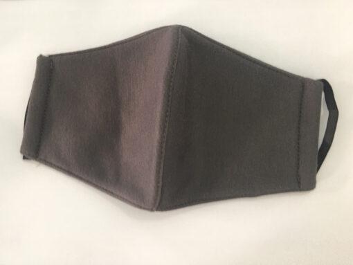 Khẩu Trang Vải 3 Lớp Màu Xám Có Quai Đeo Bằng Thun May Theo Đơn Đặt Hàng Xuất Khẩu. 4