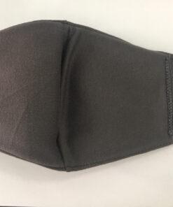 Khẩu Trang Vải 3 Lớp Màu Xám Có Quai Đeo Bằng Thun May Theo Đơn Đặt Hàng Xuất Khẩu. 7