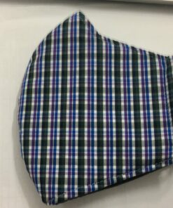 Khẩu Trang Vải Caro Thông Dụng - Loại Khẩu Trang Vải 3 Lớp Được Sử Dụng Hàng Ngày. 11