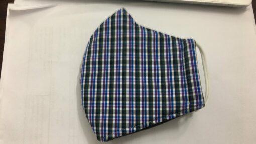 Khẩu Trang Vải Caro Thông Dụng - Loại Khẩu Trang Vải 3 Lớp Được Sử Dụng Hàng Ngày. 4