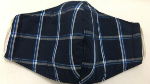 Khẩu Trang Vải Caro Thông Dụng - Loại Khẩu Trang Vải 3 Lớp Được Sử Dụng Hàng Ngày. 8