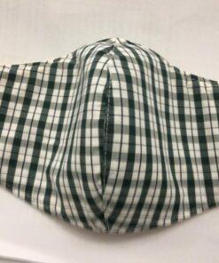 Khẩu Trang Vải Caro Thông Dụng - Loại Khẩu Trang Vải 3 Lớp Được Sử Dụng Hàng Ngày. 16