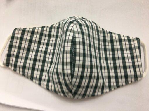 Khẩu Trang Vải Caro Thông Dụng - Loại Khẩu Trang Vải 3 Lớp Được Sử Dụng Hàng Ngày. 9