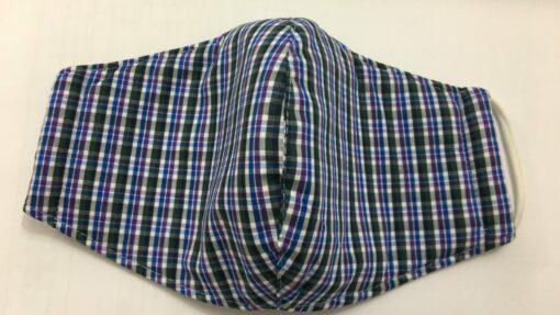 Khẩu Trang Vải Caro Thông Dụng - Loại Khẩu Trang Vải 3 Lớp Được Sử Dụng Hàng Ngày. 3
