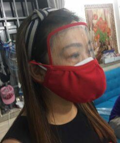 Khẩu Trang Vải Kết Hợp Face Shield Làm Theo Mẫu Của Đơn Đặt Hàng Tại Thị Trường MỸ - EU! 14