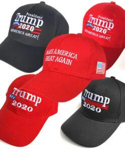 Nón Kết Donald Trump 2020 - Keep America Great Màu Đỏ  - Tùy Chỉnh Theo Yêu Cầu. 6