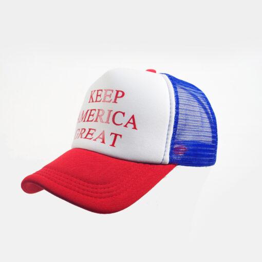 Nón Kết Lưới Trump 2020 – KEEP AMERICA GREAT Nhiều Màu - Tùy Chỉnh Theo Yêu Cầu. 3