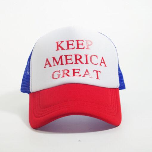 Nón Kết Lưới Trump 2020 – KEEP AMERICA GREAT Nhiều Màu - Tùy Chỉnh Theo Yêu Cầu. 4