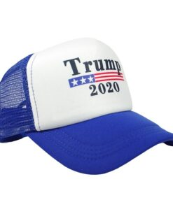 Nón Kết Lưới Trump 2020 - Loại Nón Kết Lưới Vành Cong Dành Cho Bầu Cử Mỹ 2020 In Khẩu Hiệu. 6
