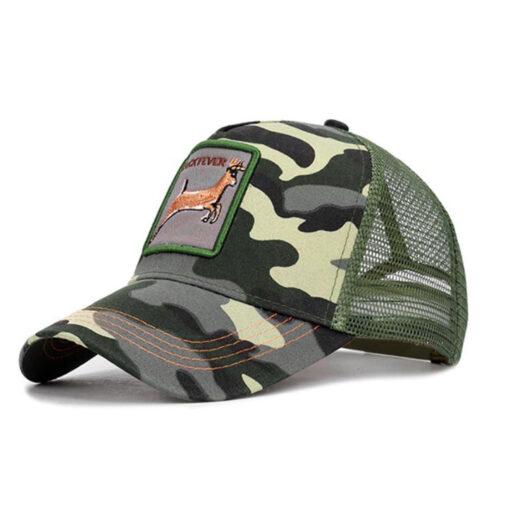 Nón Kết - Mẫu Nón 014 - Mẫu Nón Kết Lưới Rằn Ri Màu Lính Bộ Binh. 3