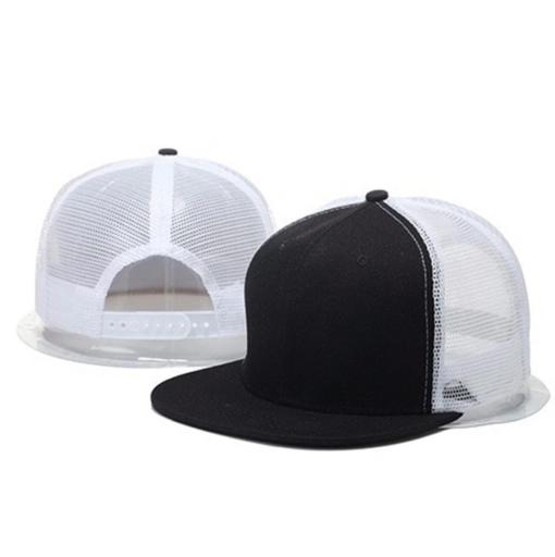 Nón Snapback Cap – Mẫu Nón 005 – Mẫu Nón Snapback Lưới Màu Trắng Đen. 3