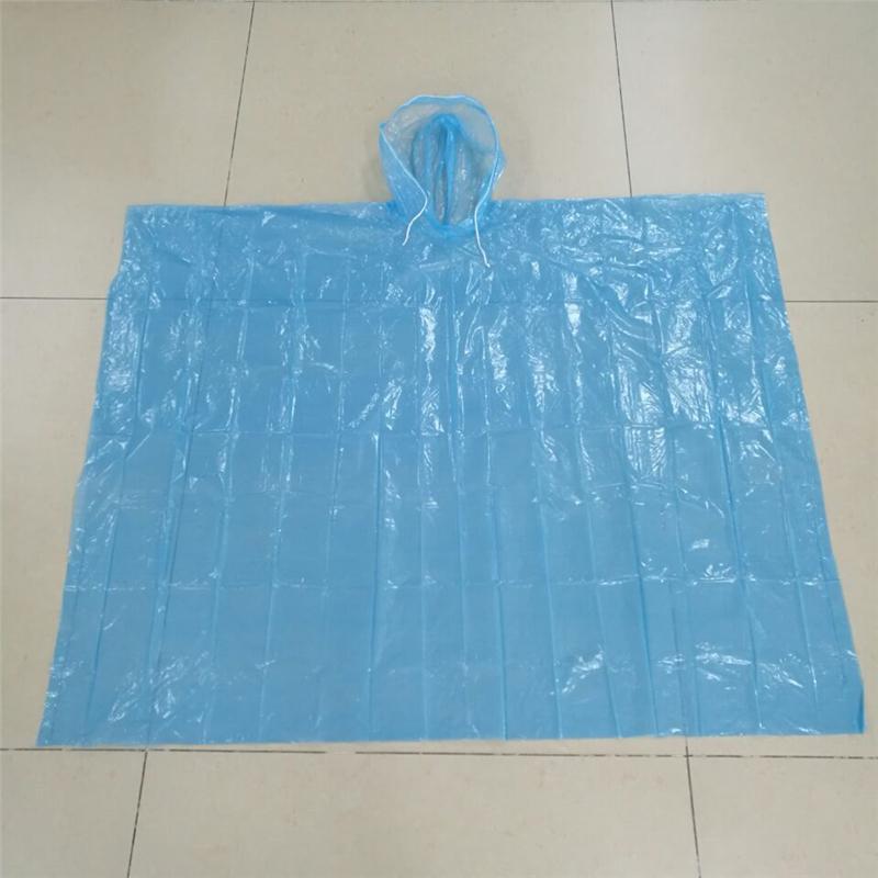 Áo mưa tiện loại dùng một lần loại đơn giản không có tay.