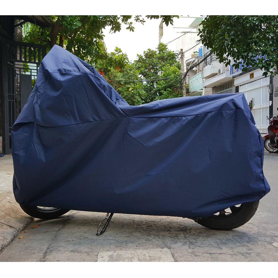 Áo mưa trùm xe máy, giúp xe bạn chống lại nắng mưa, bảo vệ xe máy của bạn trước mội tác nhân thời tiết. Đây là loại phụ kiện cần thiết cho nhưng ai yêu xe của mình.