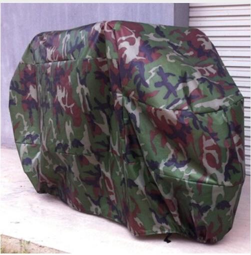 Bạt Trùm Xe Máy Ngoài Trời - Loại Áo Trùm Xe Đơn Giản Màu Rằn Ri Quân Đội. 3