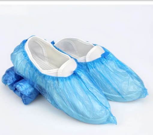 Bọc Trùm Giày Đi Mưa PE – Loại Bọc Giầy Tiện Lợi Cổ Thấp Làm Từ Nhựa PE Tiện Lợi. 3