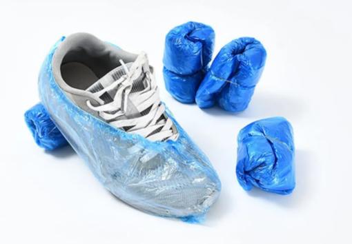 Bọc Trùm Giày Đi Mưa PE – Loại Bọc Giầy Tiện Lợi Cổ Thấp Làm Từ Nhựa PE Tiện Lợi. 4