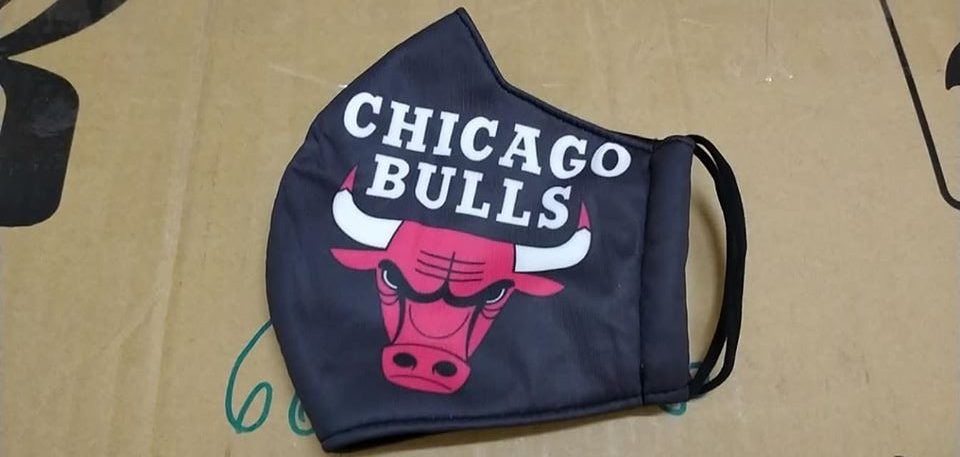 Khẩu Trang Vải 3 Lớp Bang Chicago Nước Mỹ Được Đặt Hàng Theo Yêu Cầu. 22