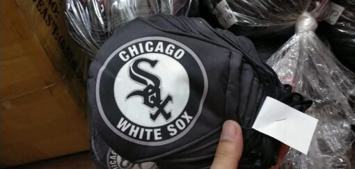 Khẩu Trang Vải 3 Lớp Bang Chicago Nước Mỹ Được Đặt Hàng Theo Yêu Cầu. 5