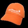 Nón Kết Yolo Travel - Loại Mũ Lưỡi Trai Màu Cam Thêu Logo Cty Theo Yêu Cầu. 2