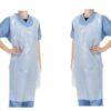Áo tạp dề nhựa PE - Loại áo dùng một lần chất lượng cao loại đơn giản. 2