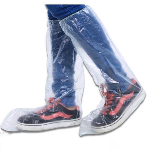 Ủng đi mưa tiện lợi - giúp bảo vệ chân, bảo vệ giày dép, không lo hỏng giày dép khi đi mưa