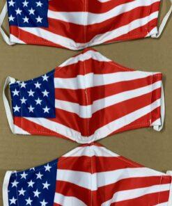 7 Mẫu Khẩu Trang Cờ Mỹ – Mẫu Khẩu Trang Vải 2 Lớp & 3 Lớp Cờ Mỹ Được Nhiều Người Lựa Chọn 12