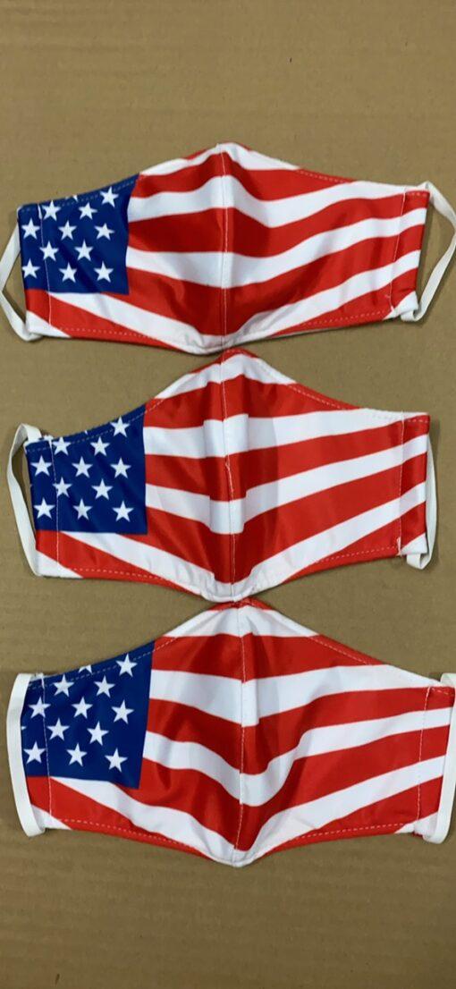 7 Mẫu Khẩu Trang Cờ Mỹ – Mẫu Khẩu Trang Vải 2 Lớp & 3 Lớp Cờ Mỹ Được Nhiều Người Lựa Chọn 6