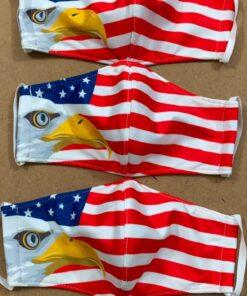 7 Mẫu Khẩu Trang Cờ Mỹ – Mẫu Khẩu Trang Vải 2 Lớp & 3 Lớp Cờ Mỹ Được Nhiều Người Lựa Chọn 10