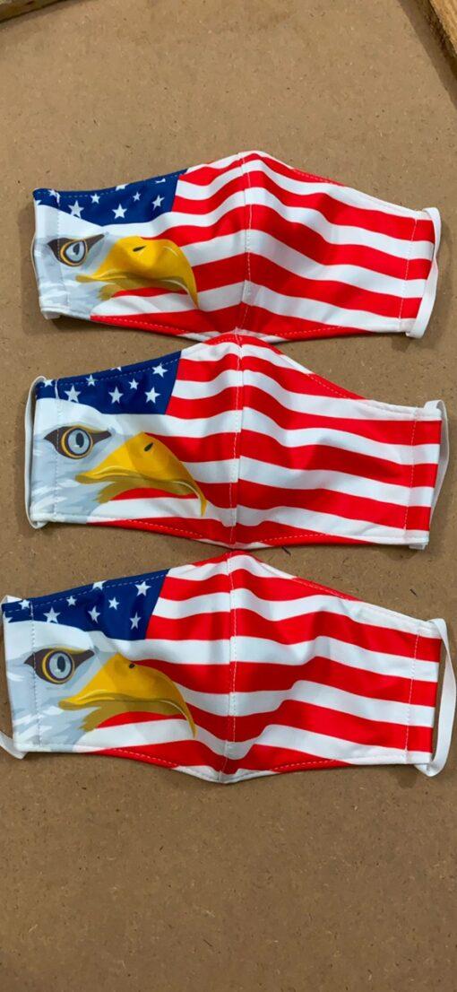 7 Mẫu Khẩu Trang Cờ Mỹ – Mẫu Khẩu Trang Vải 2 Lớp & 3 Lớp Cờ Mỹ Được Nhiều Người Lựa Chọn 4