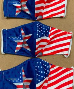 7 Mẫu Khẩu Trang Cờ Mỹ – Mẫu Khẩu Trang Vải 2 Lớp & 3 Lớp Cờ Mỹ Được Nhiều Người Lựa Chọn 15