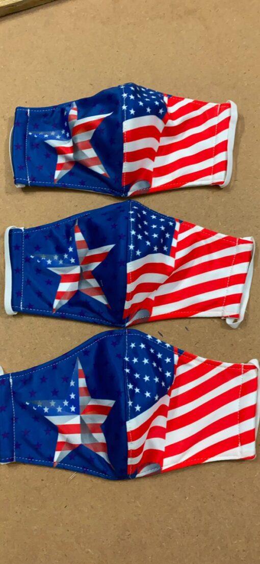 7 Mẫu Khẩu Trang Cờ Mỹ – Mẫu Khẩu Trang Vải 2 Lớp & 3 Lớp Cờ Mỹ Được Nhiều Người Lựa Chọn 9
