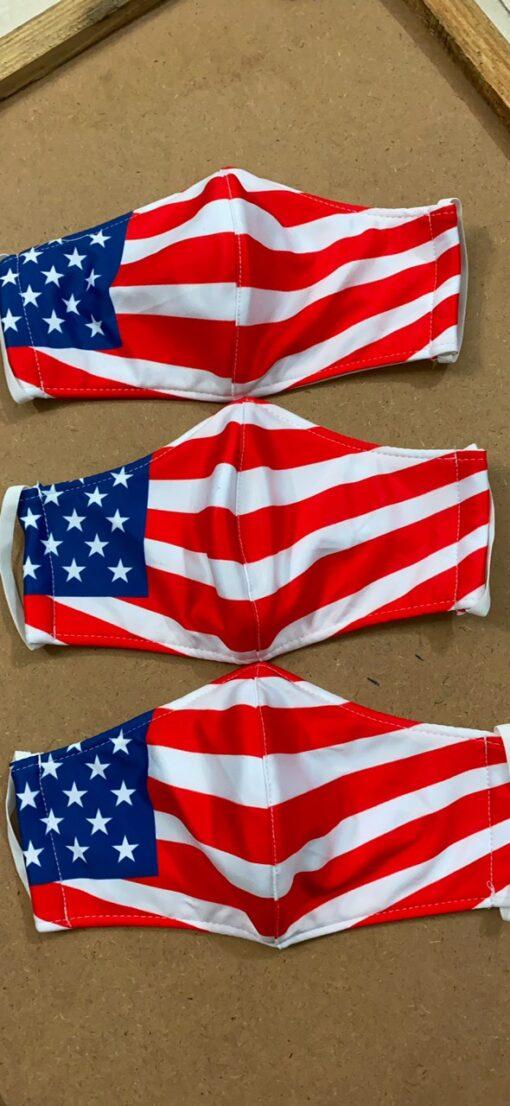 7 Mẫu Khẩu Trang Cờ Mỹ – Mẫu Khẩu Trang Vải 2 Lớp & 3 Lớp Cờ Mỹ Được Nhiều Người Lựa Chọn 8