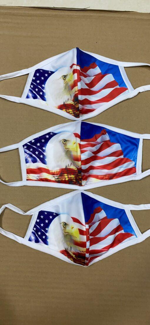 7 Mẫu Khẩu Trang Cờ Mỹ – Mẫu Khẩu Trang Vải 2 Lớp & 3 Lớp Cờ Mỹ Được Nhiều Người Lựa Chọn 7