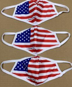 7 Mẫu Khẩu Trang Cờ Mỹ – Mẫu Khẩu Trang Vải 2 Lớp & 3 Lớp Cờ Mỹ Được Nhiều Người Lựa Chọn 11