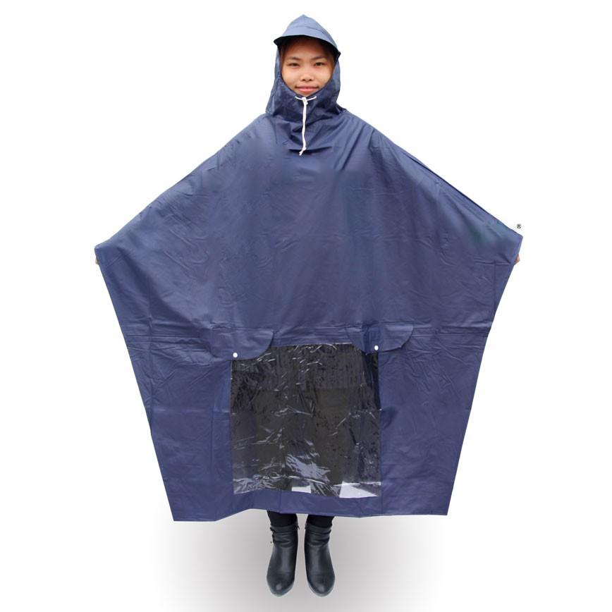 Áo mưa loại tái sử dụng được thông dụng thường được làm từ nhựa PVC, độ dày của áo mưa từ 0.15mm - 0.17mm