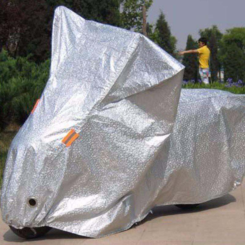 Bạt trùm xe máy phản quang - loại áo trùm xe máy được thiết chuyên biệt chống nắng, chống nhiệt độ