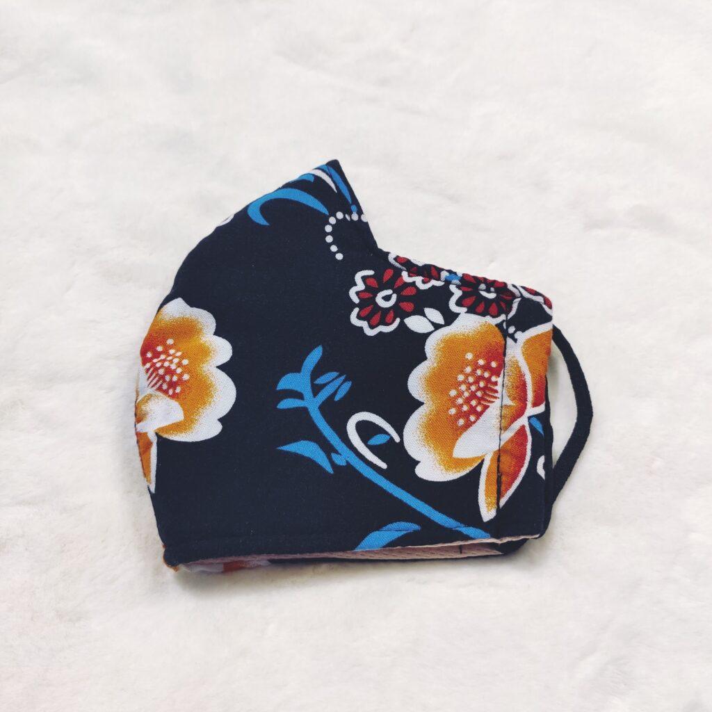 Khẩu Trang Vải 3 Lớp - Loại Khẩu Trang Vải Với Họa Tiết Hoa Phối Nhiều Màu 6