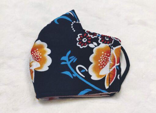 Khẩu Trang Vải 3 Lớp - Loại Khẩu Trang Vải Với Họa Tiết Hoa Phối Nhiều Màu 3