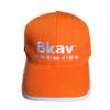 Nón Kết Cty BKAV - Loại Mũ Lưỡi Trai Màu Cam Được Thêu Logo Cty Theo Yêu Cầu. 1