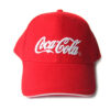 Nón Kết Cty Coca Cola – Loại Mũ Lưỡi Trai Màu Đỏ Được Thêu Logo Cty Theo Yêu Cầu. 2
