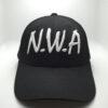 Nón Kết N.W.A- Loại Mũ Lưỡi Trai Đơn Giản Màu Đen Được Thêu Logo Theo Yêu Cầu. 2