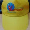 Nón Kết VN Tour - Loại Mũ Lưỡi Trai Đơn Giản Màu Vàng In Logo Cty Theo Yêu Cầu. 1