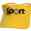 Nón Nửa Đầu Sport - Loại Mũ Đơn Giản Màu Vàng Thêu Logo Cty Theo Yêu Cầu. 1