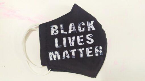 Khẩu Trang 3 Lớp In 3D – Mẫu Khẩu Trang In Black Live Matter MỸ Đặt Hàng. 3